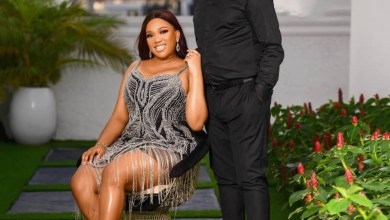 ''I'm the incoming Mrs Thompson M''- Ubi Franklin's ex, Sandra Iheuwa, writes as she releases her pre-wedding photos