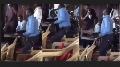 hoir member served a warning for dancing erotically during church service, this is not a club –