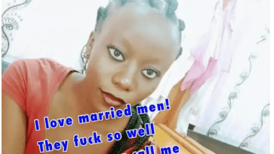 Jilted wife leaks text messages she found in her husband's phone and parades the face of her hubby's side chick, SHALOM GATWIRI.