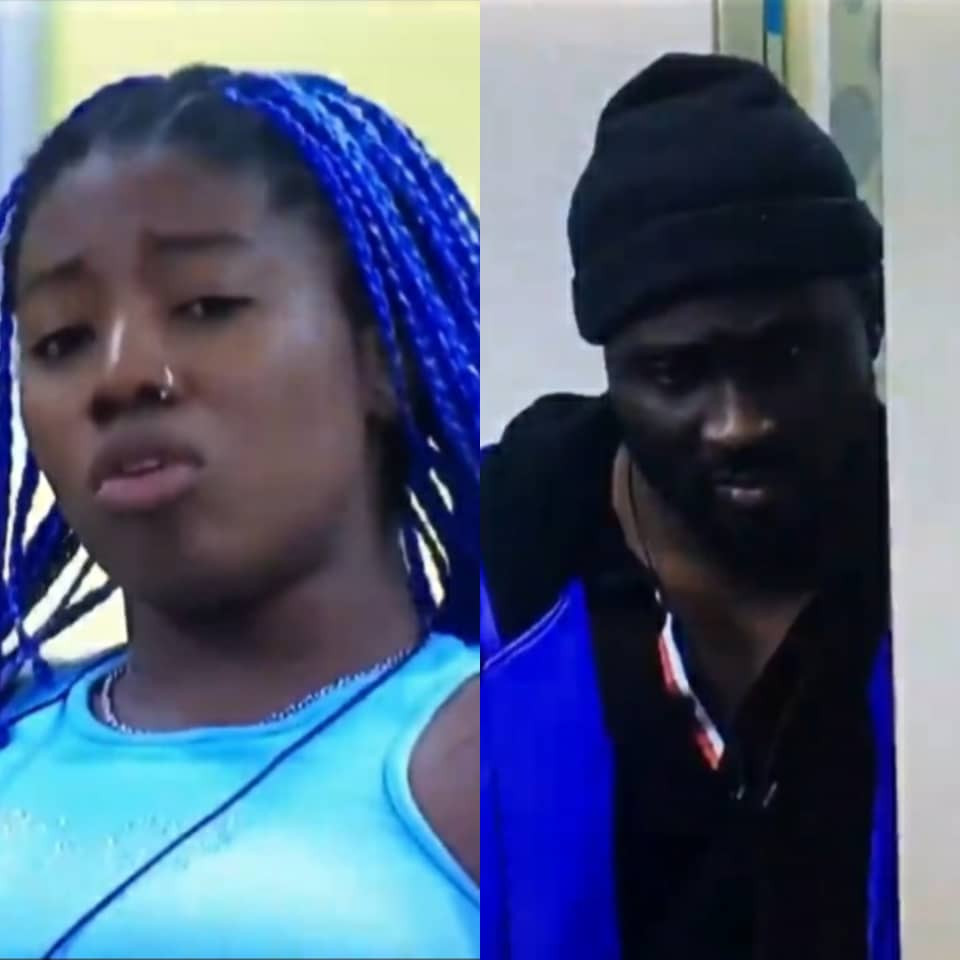 You didn't know my teeth was growing when your dick was getting hard in my mouth, fucking idiot- Angel tells Pere as they clash (video)