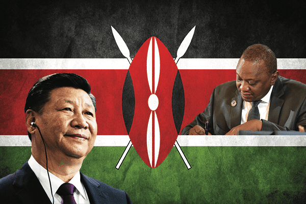 Desperate UHURU turns to IMF for help as China threatens to take over Mombasa Port if Kenya does not pay back its loan in time – LOOK!
