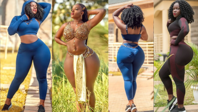 Look at this Ugandan Lady; all the assets are natural – No wonder the late President advised Ghanaian men to marry from Uganda -Photos