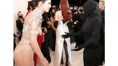 Kim Kardashian admits she couldn't see sister, Kendall Jenner, through her Met Gala outfit