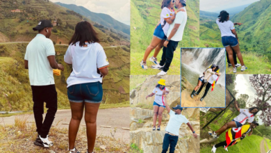 28-year-old Precious Remmie sets temperatures rising as she shows off gorgeous curves on baecation with controversial boyfriend Raymond