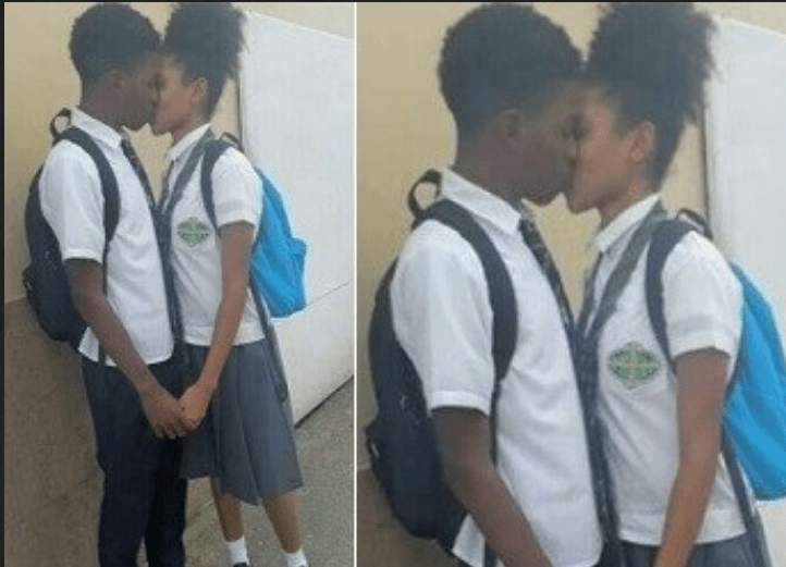 Video of students kissing and getting cozy during school hour goes viral