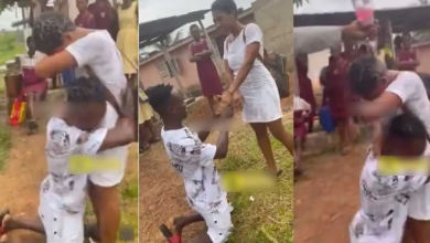 SHS lady move to tears after boyfriend who paid her fees proposed to her right after WASSCE