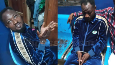 Funny Face almost in tears after he was arrested at Kofi TV studios, police release statement immediately