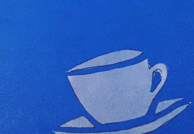Little Cup Blue