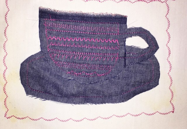 Stitched Cup