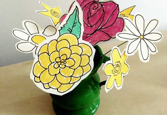 290 Floral Cup