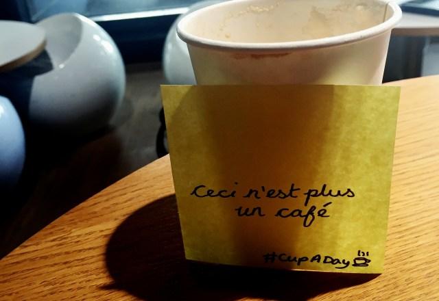 Sticky Note Cup