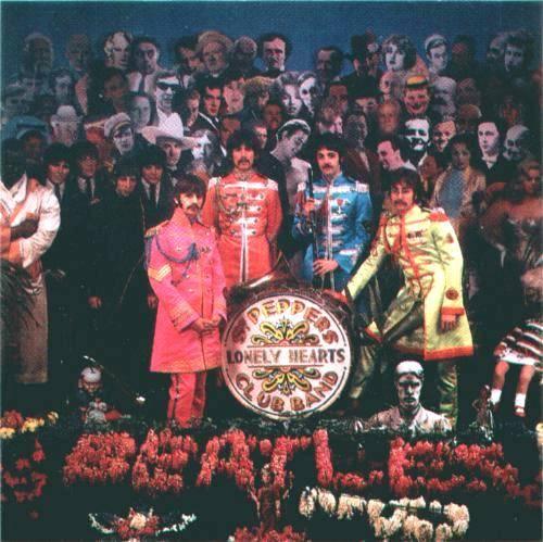 Cover shoot for Sgt Pepper (12)