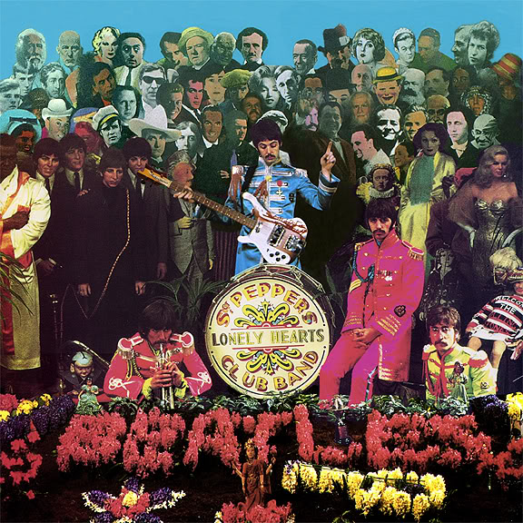Cover shoot for Sgt Pepper (3)