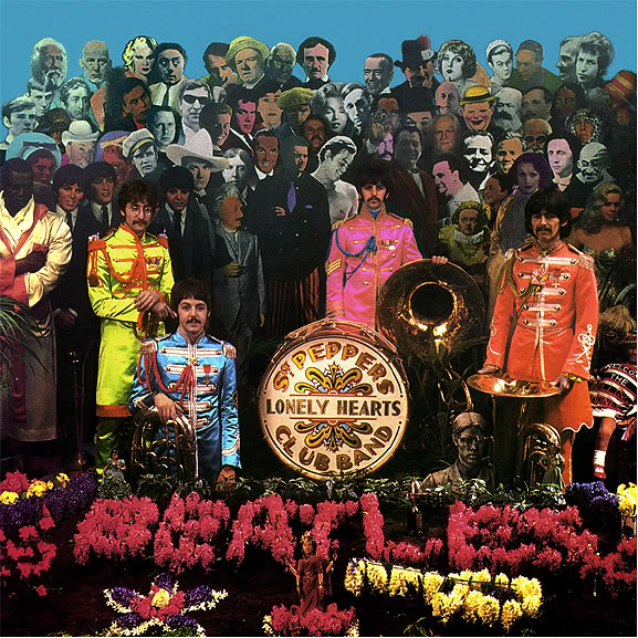 Cover shoot for Sgt Pepper (6)