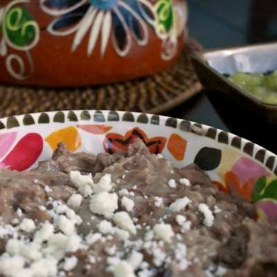 Authentic Mexican Refried Beans