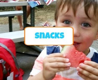 family friendly healthy snack ideas