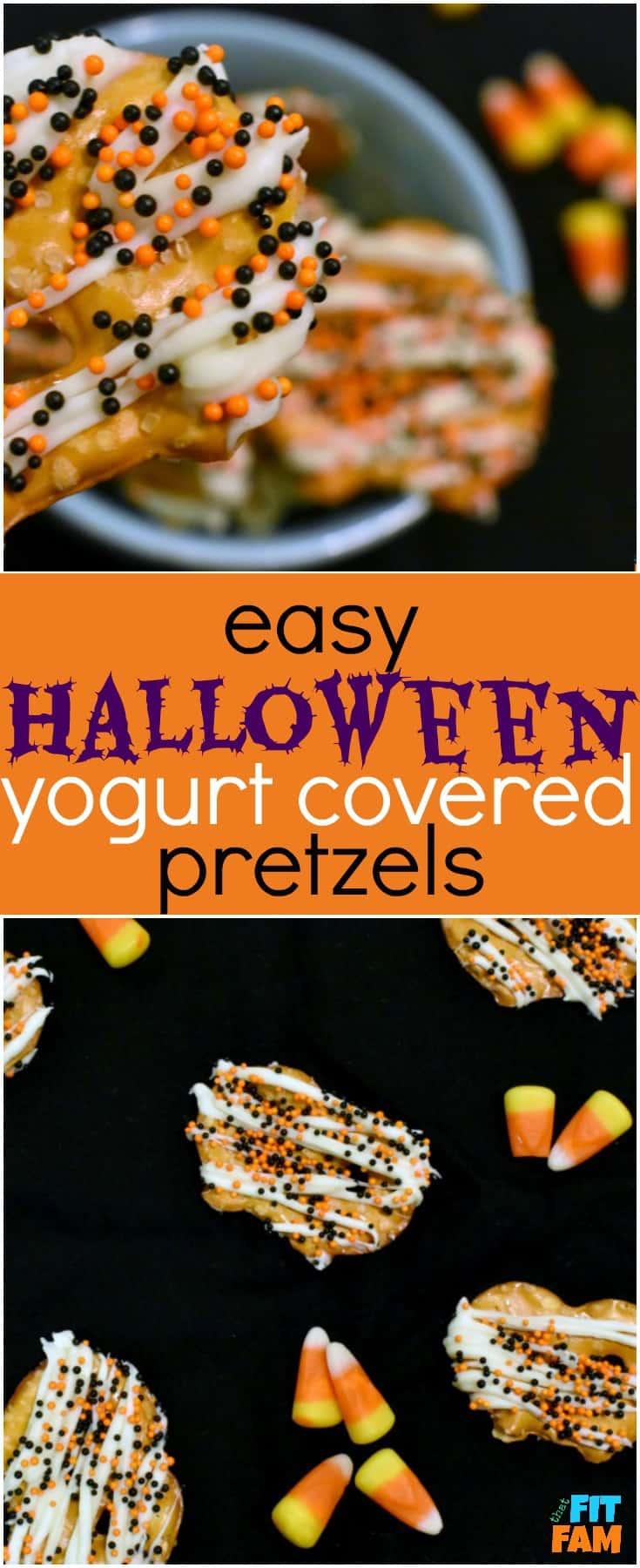 easy halloween yogurt covered pretzels that fit fam. Black Bedroom Furniture Sets. Home Design Ideas