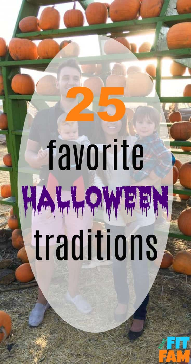 Some of our favorite Halloween traditions that are perfect for couples and family traditions! You can do these all month long! Start them this October!