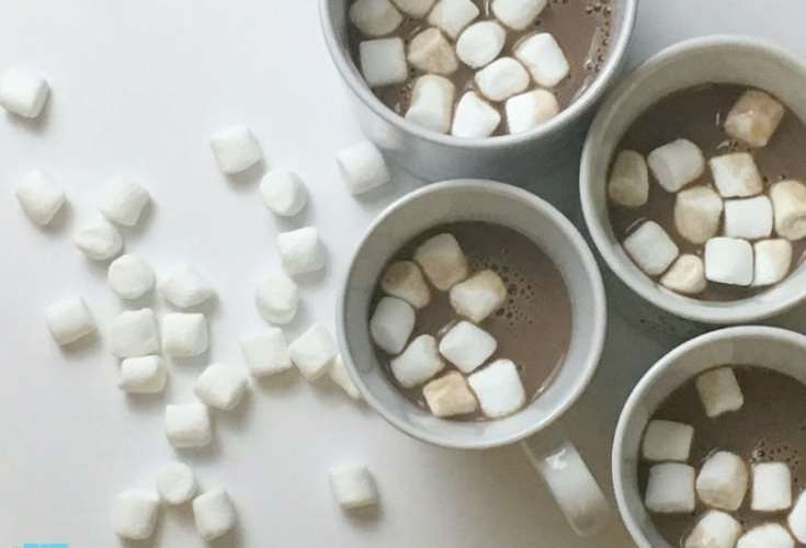 protein hot chocolate is such an easy and delicious way to get your protein in. perfect for iifym, macro counting and is a diet friendly drink!