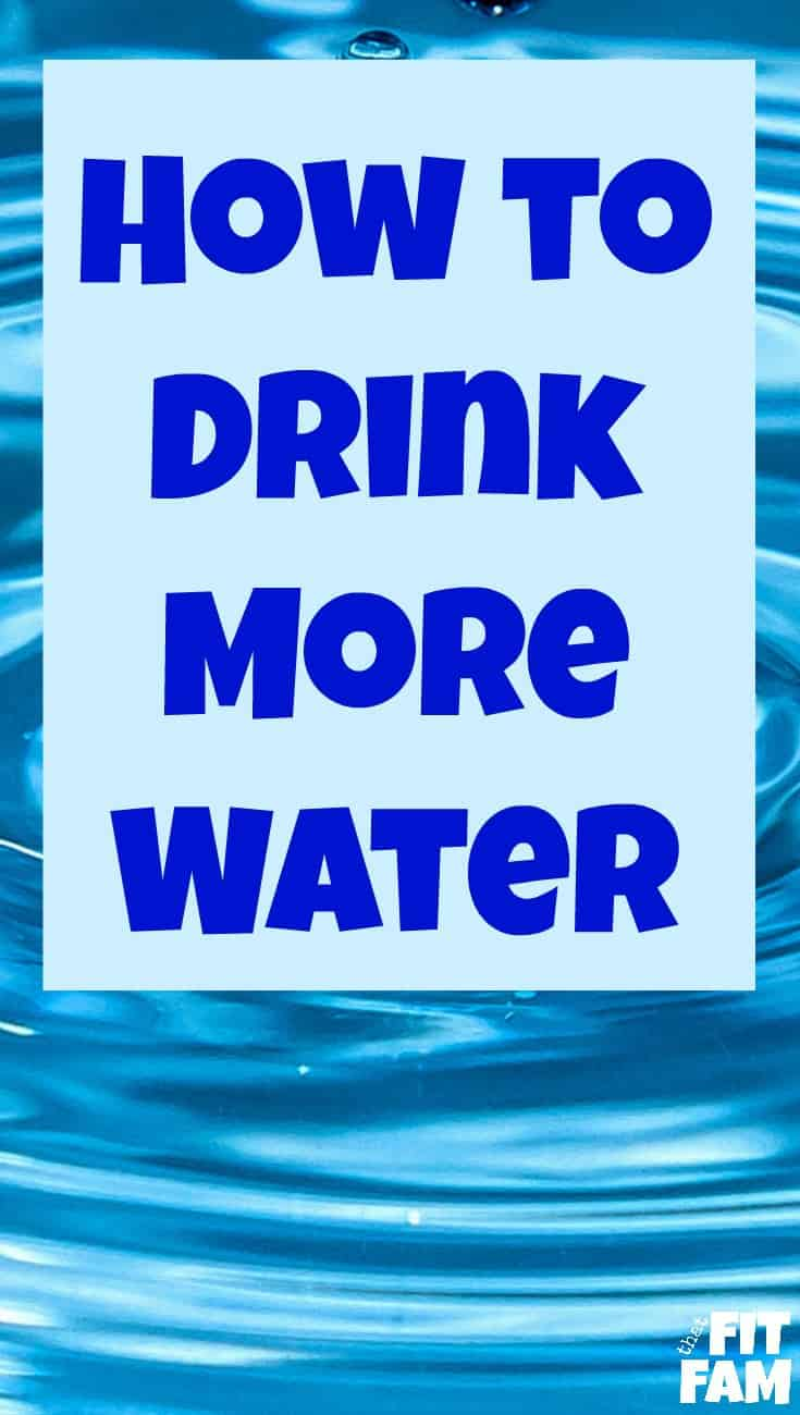 how to drink more water daily, easy tips to follow