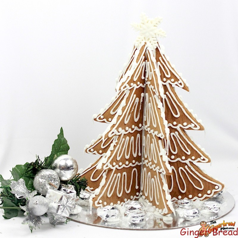 Rustic Style Gingerbread Tree NEW TREE DESIGN