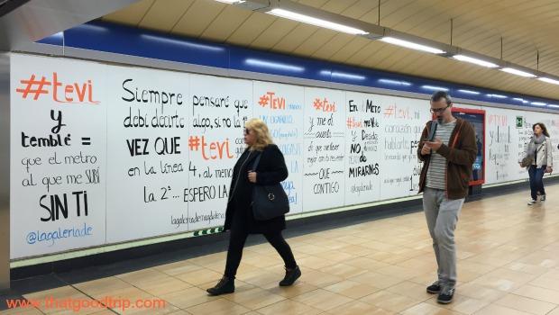 arte urbana em Madrid