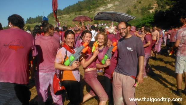 Batalha do Vinho La Rioja
