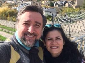 Luiz e Mara, do Hostal Casa San Nicolás