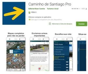 App do Caminho de Santiago
