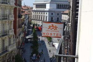 Los Amigos hostel no centro de Madrid