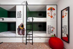 The Newton hostel no centro de Madrid