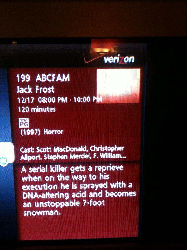 ABC Family Jack Frost!