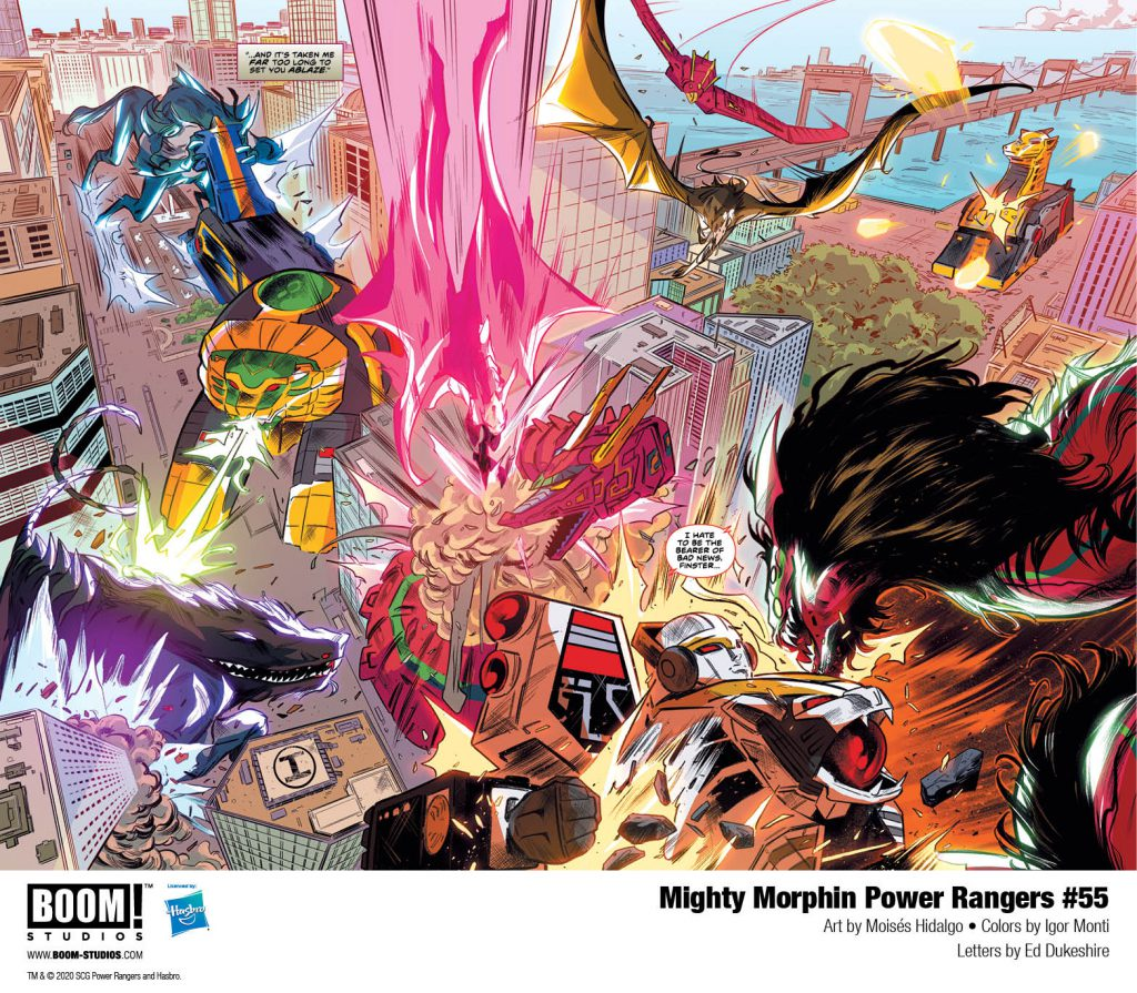 Get Ready For A New World In Mighty Morphin Power Rangers Issue #55 - The Illuminerdi