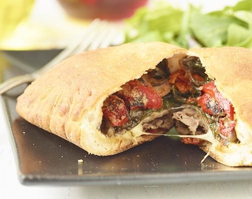 calzone is in the list of global food recipes from youtube