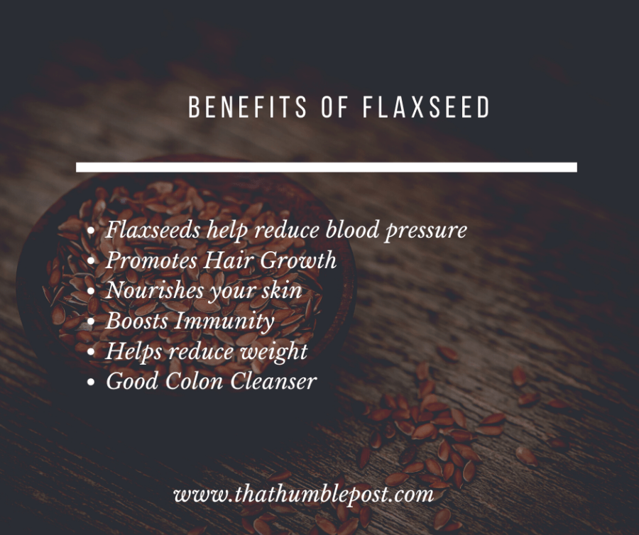 flaxseed for glowing skin and hairfall