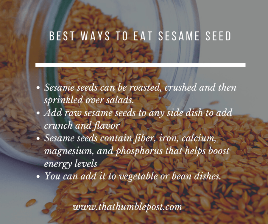health benefits of sesame seeds, flaxseed , onion seed