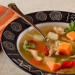 Jamaican Chicken Corn Soup