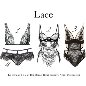 From fetish to fashion – lace