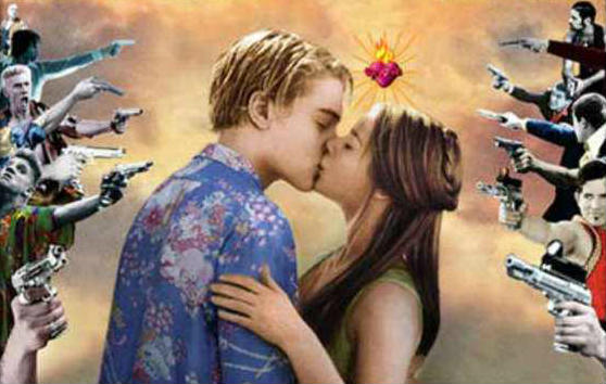 CINEMA REMEMBERED: Romeo + Juliet and The GAS STATION SHOOTOUT ...