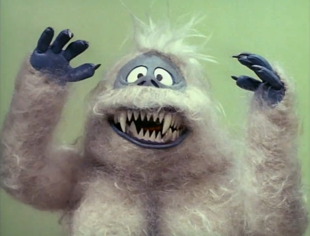 "The abominable snow monster, from ""Rudolph the Red Nose ... 