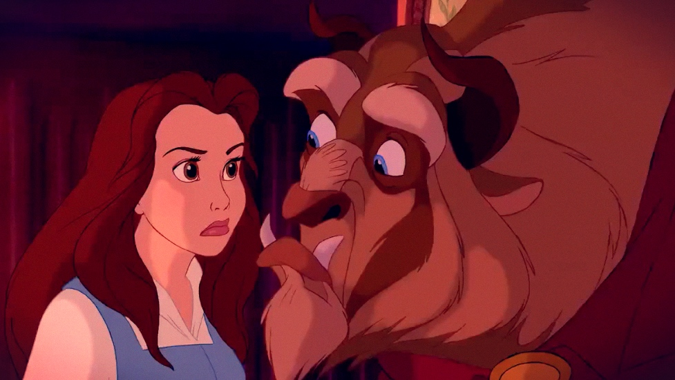 That Moment In Beauty And The Beast 1991 Belle And Beast Save Each Other That Moment In