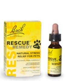 Rescue Remedy to help a dog that's scared of fireworks