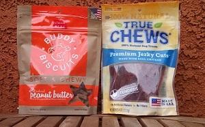 PawPack treats in July box