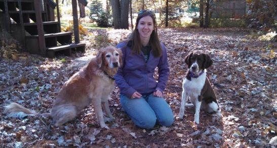 Elsie, Sophie and me