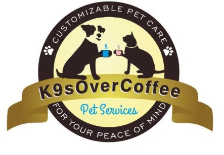 K9s Over Coffee Pet Services logo