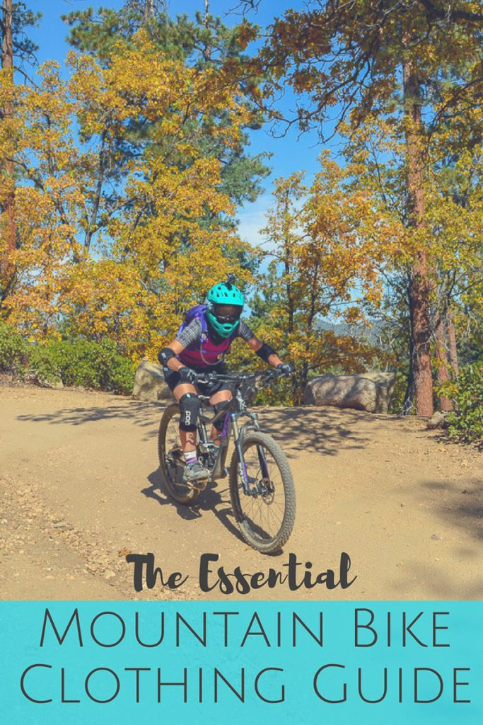 The Essential Mountain Bike Clothing Guide for Women: From head to toe, these are the essentials that you should wear on every mountain bike ride!