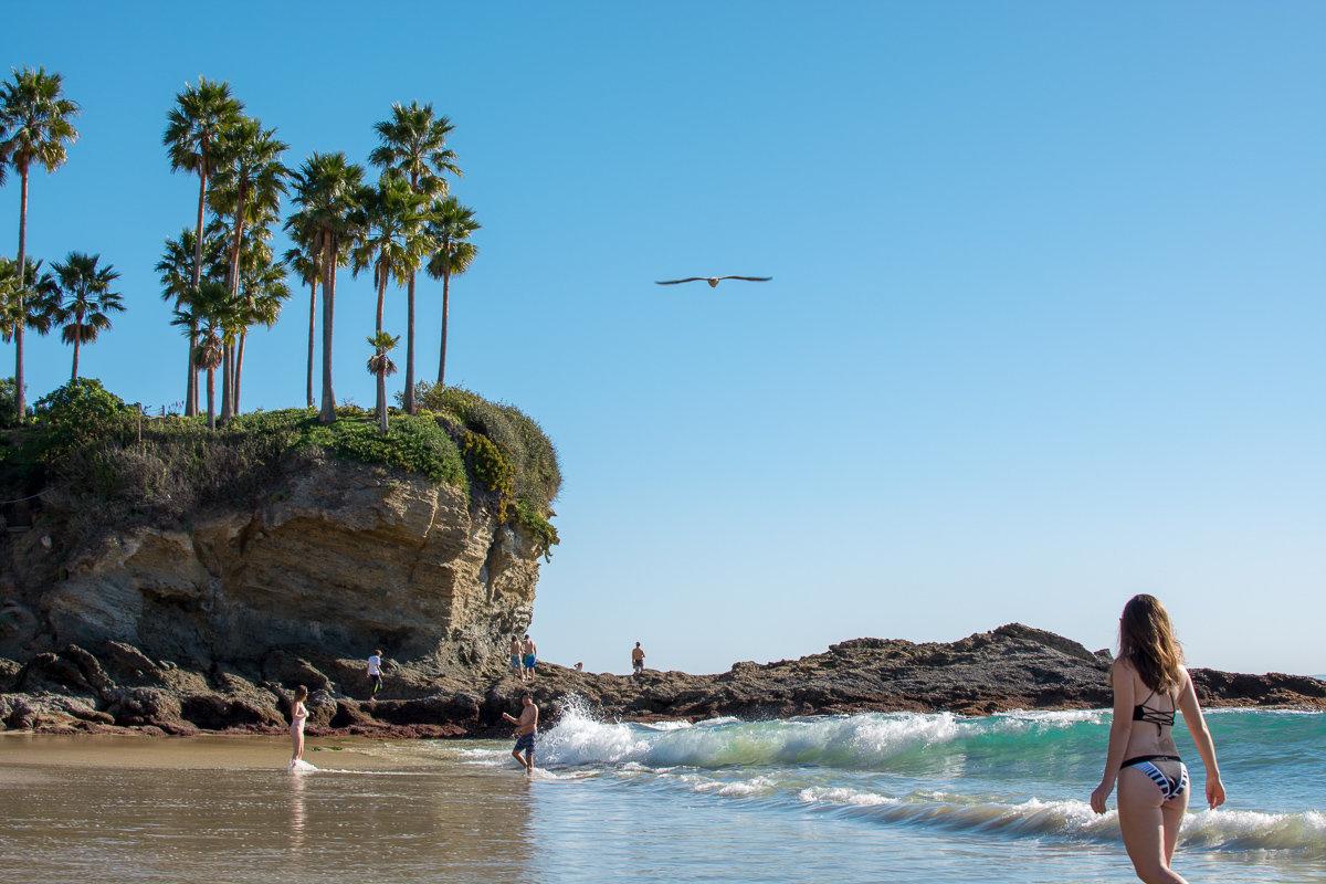 Crescent Bay in Laguna Beach, California