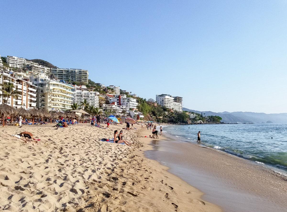Los Muertos Beach in Puerto Vallarta