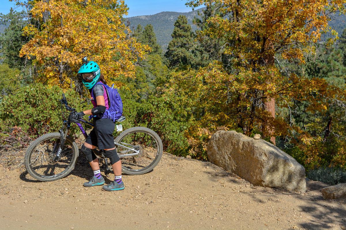 Mountain Biking in Big Bear, California