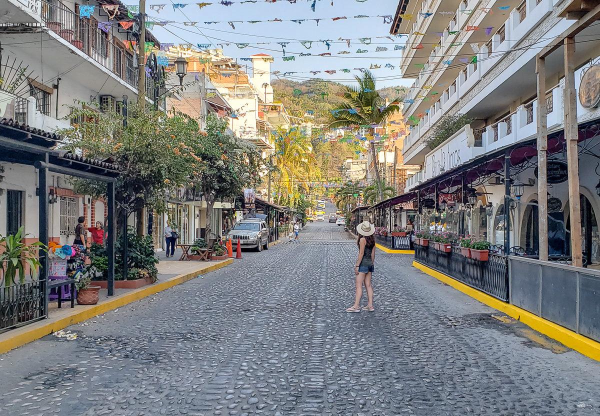 Olas Altas neighborhood in Puerto Vallarta